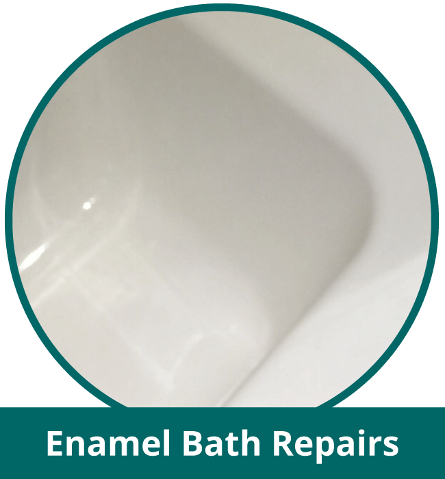 Enamel bath repairs